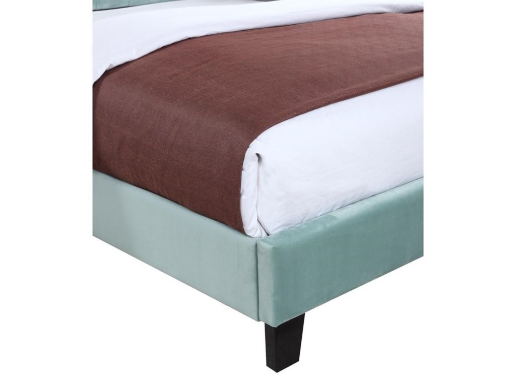 Emerald AmeliaUpholstered 5/0 Queen Bed