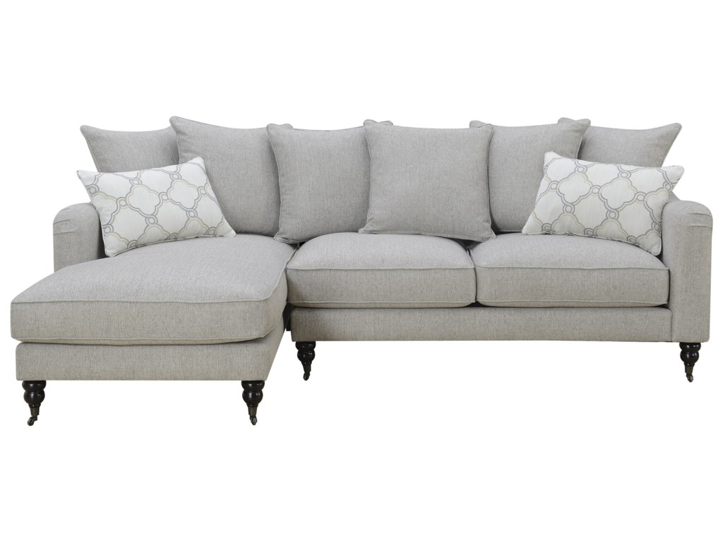 Amelie Traditional Sectional Sofa With Chaise By Emerald At Northeast Factory Direct