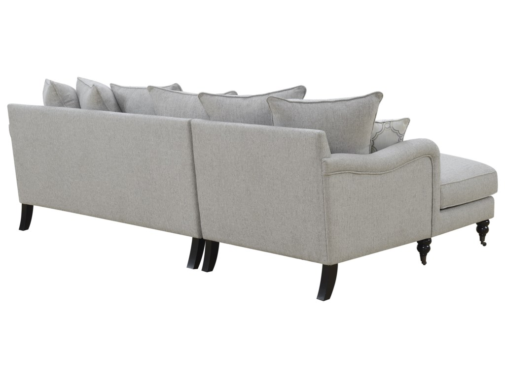 Emerald AmelieSectional Sofa with Chaise