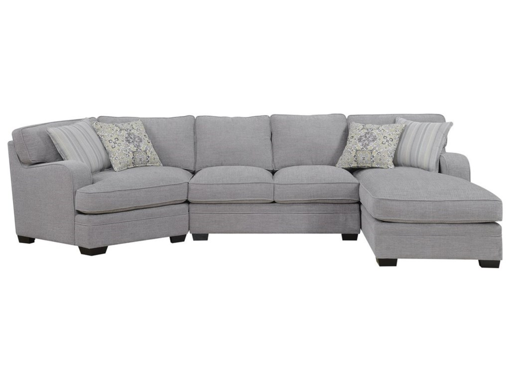 Emerald AnalieseSectional Sofa with Chaise