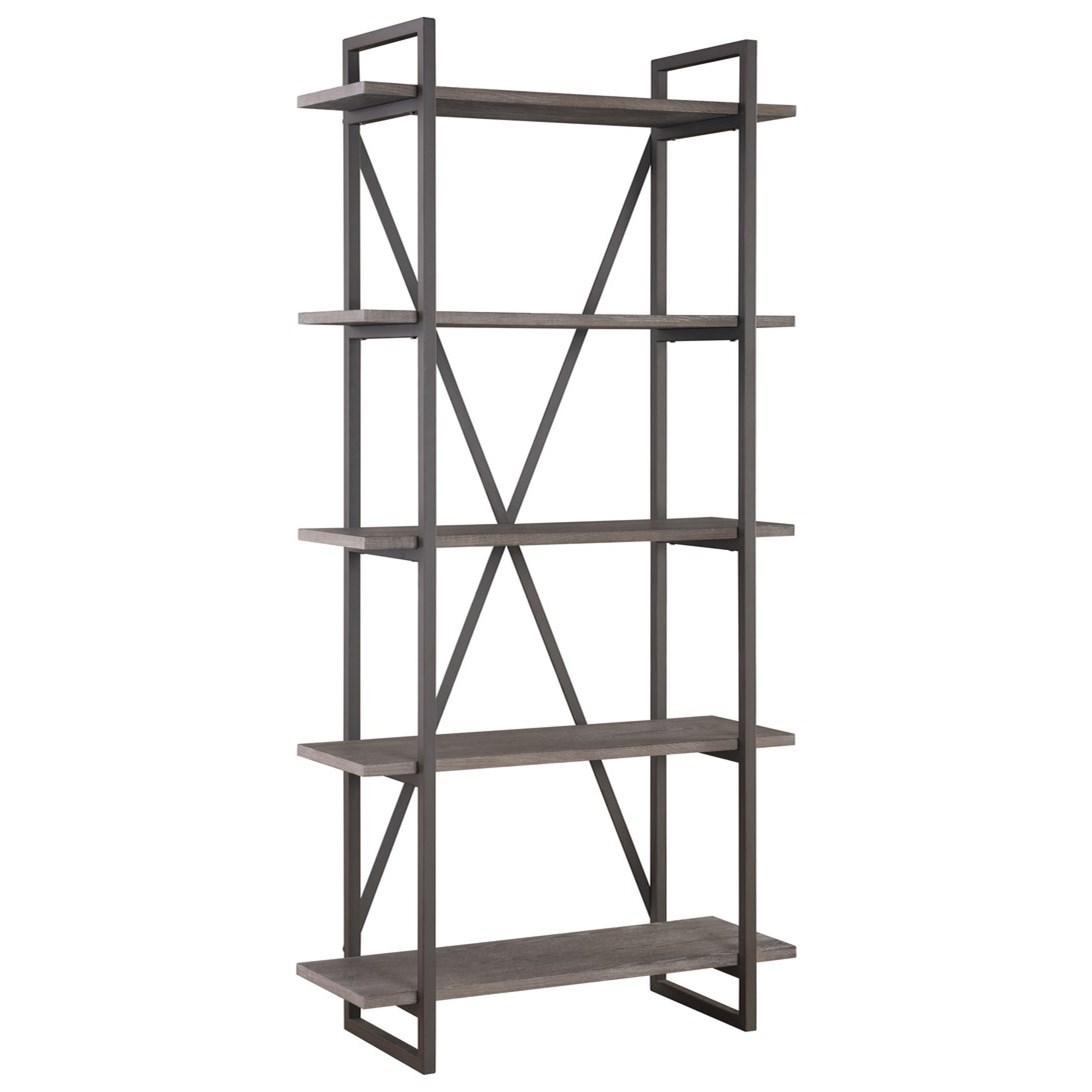 """Contemporary Bookshelf 36"""" with 5 Shelves"""