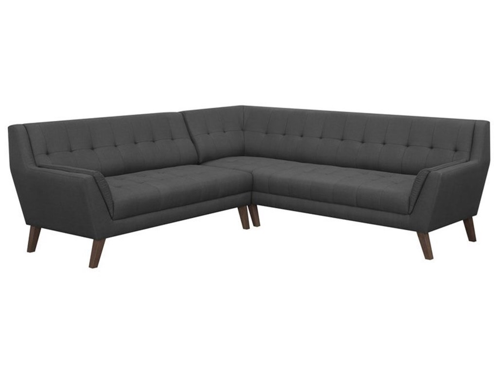 Emerald BinettiMid-Century Modern Sectional