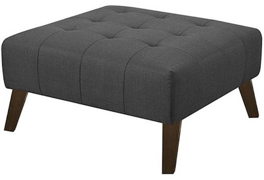 Cool Binetti Mid Century Modern Ottoman Unemploymentrelief Wooden Chair Designs For Living Room Unemploymentrelieforg