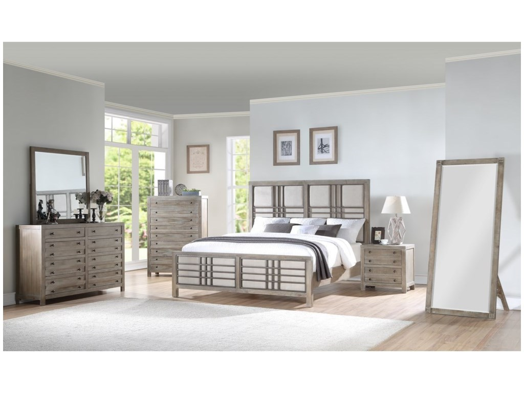 Emerald Briar CrestQueen Bedroom Group