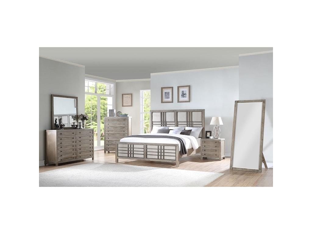 Emerald Briar CrestKing Bedroom Group