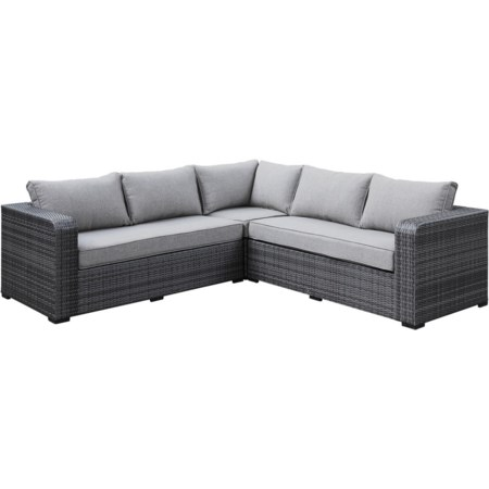 4-Seat Outdoor Sectional Sofa