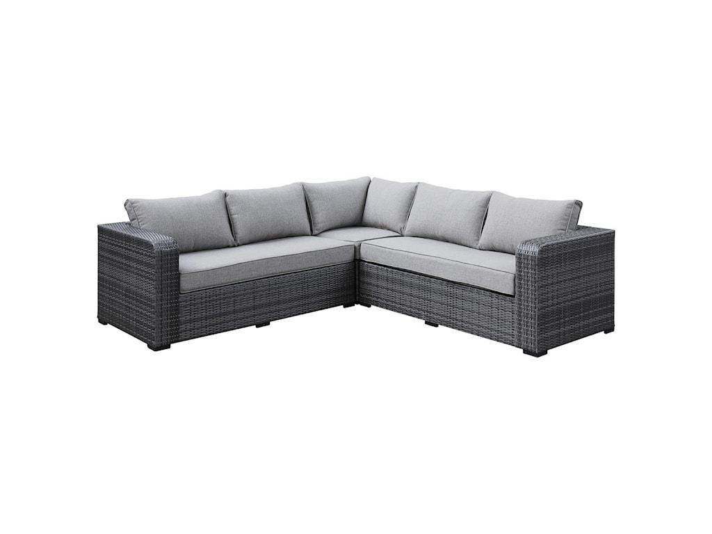 Emerald Brunswick4-Seat Outdoor Sectional Sofa