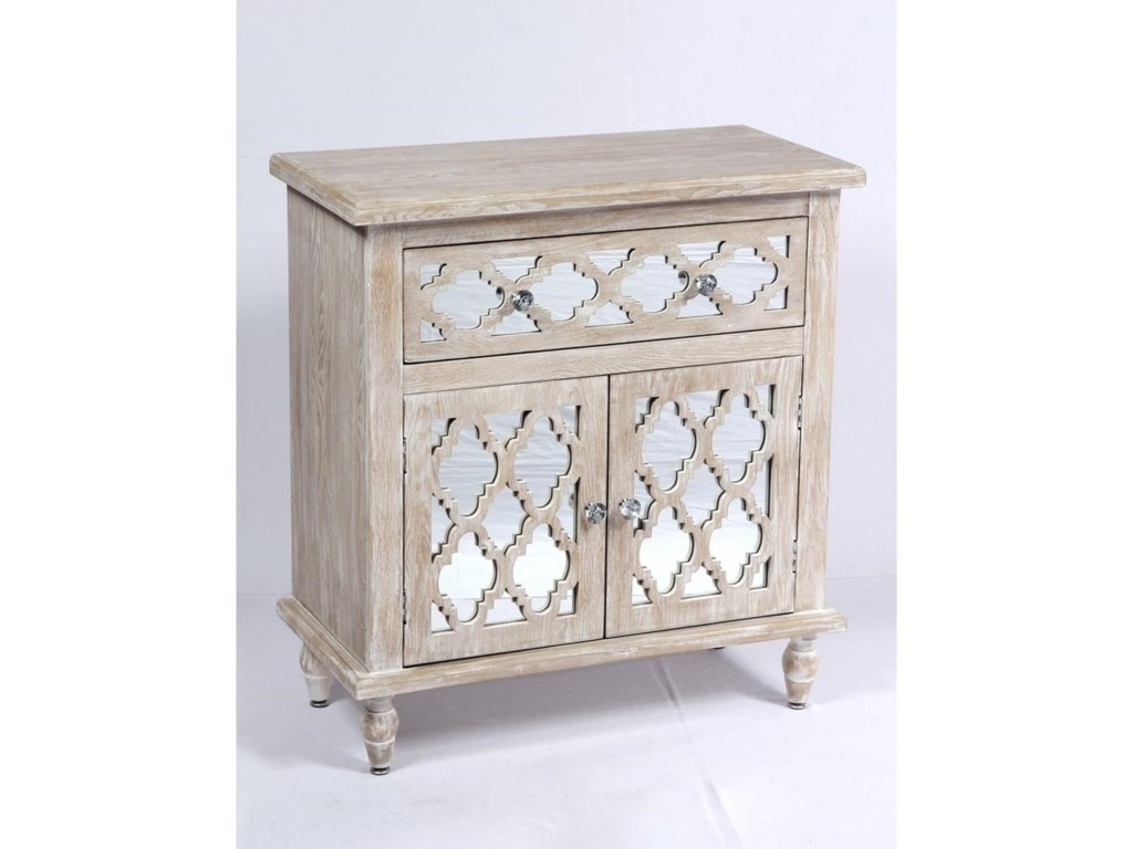 Emerald Canterwood1 Drawer 2 Door Accent Cabinet