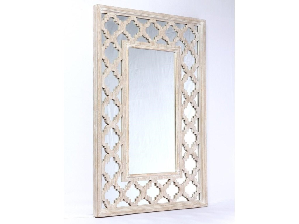 Canterwood Vintage Accent Mirror With Gl Frame By Emerald At Northeast Factory Direct