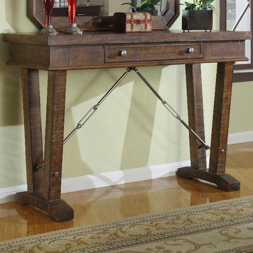 Emerald Castlegate Console Table w/ Drawer