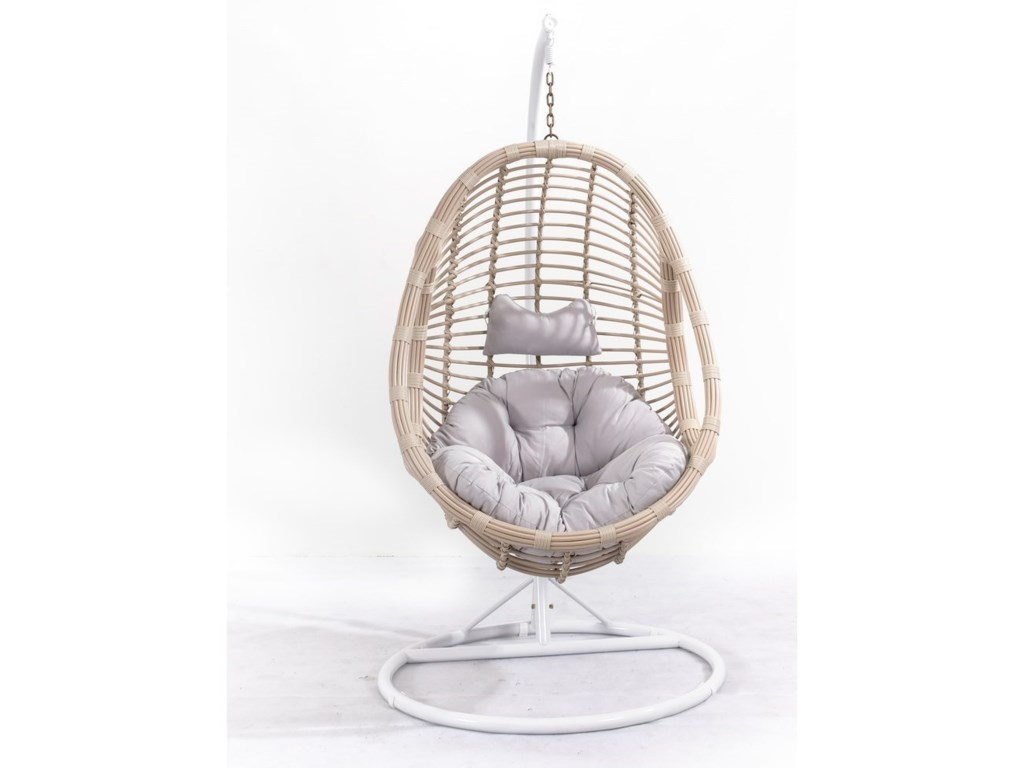 Emerald CatalinaOutdoor Wicker Hanging Basket Chair