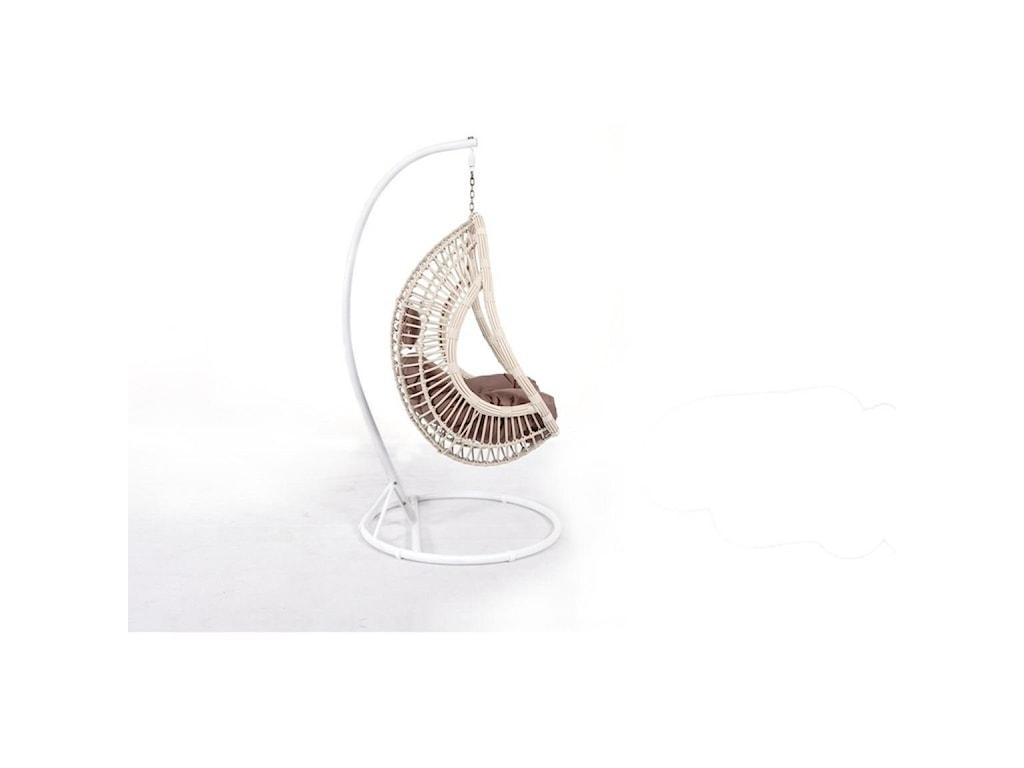 Emerald CatalinaOutdoor Wicker Hanging Basket Chair