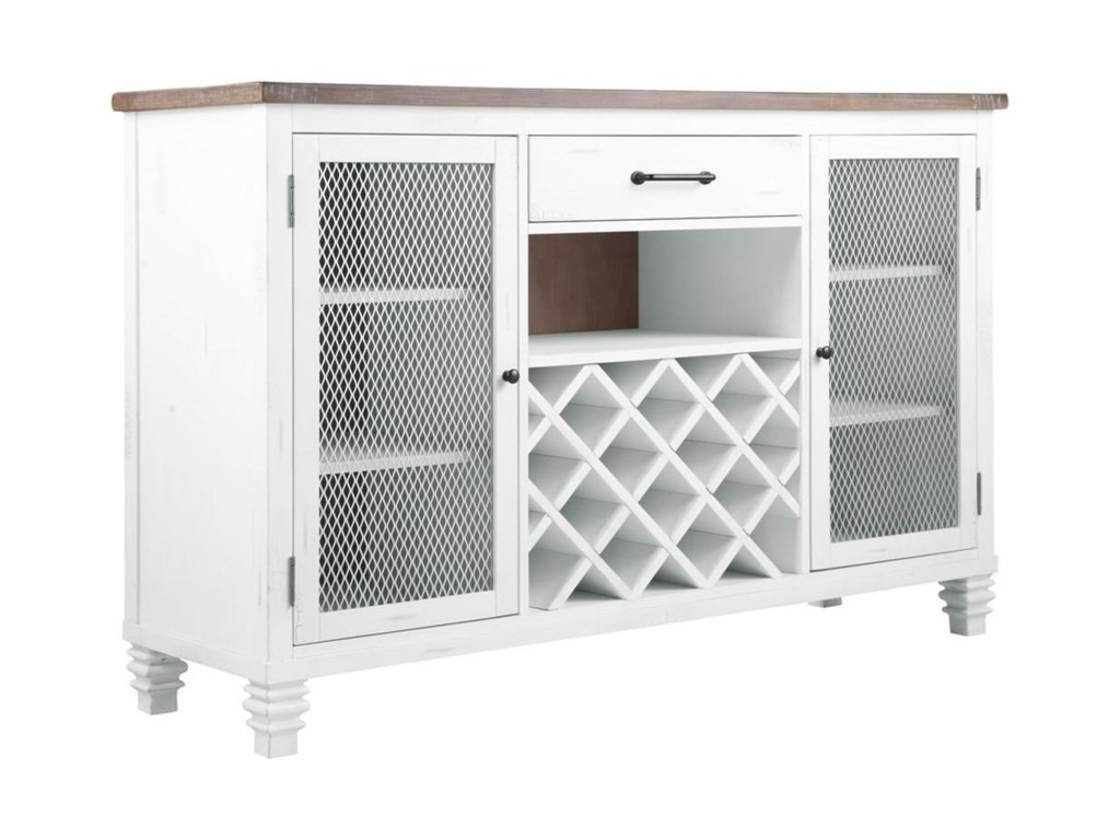 Emerald CentervilleServer with Wine Rack