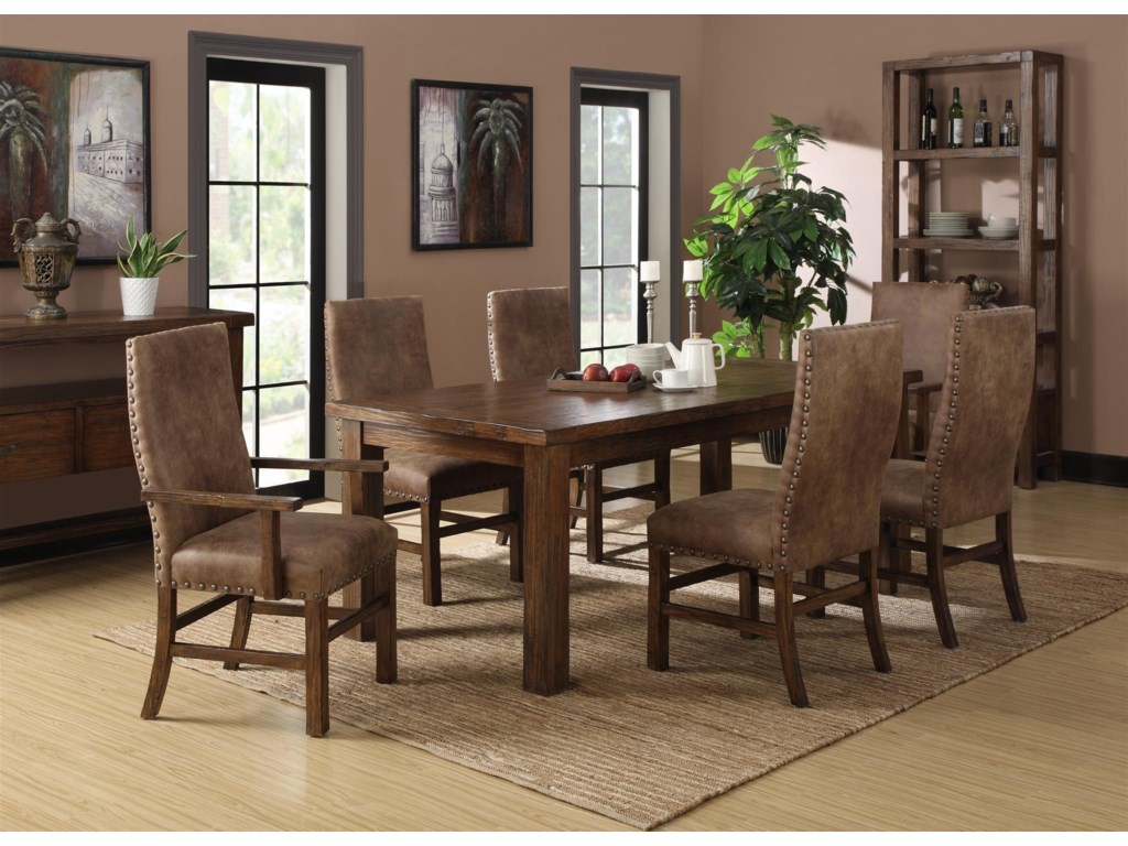 Emerald Chambers CreekDining Table with Butterfly Leaf