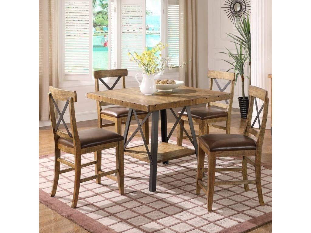 Emerald Chandler5-Piece Gathering Table Set