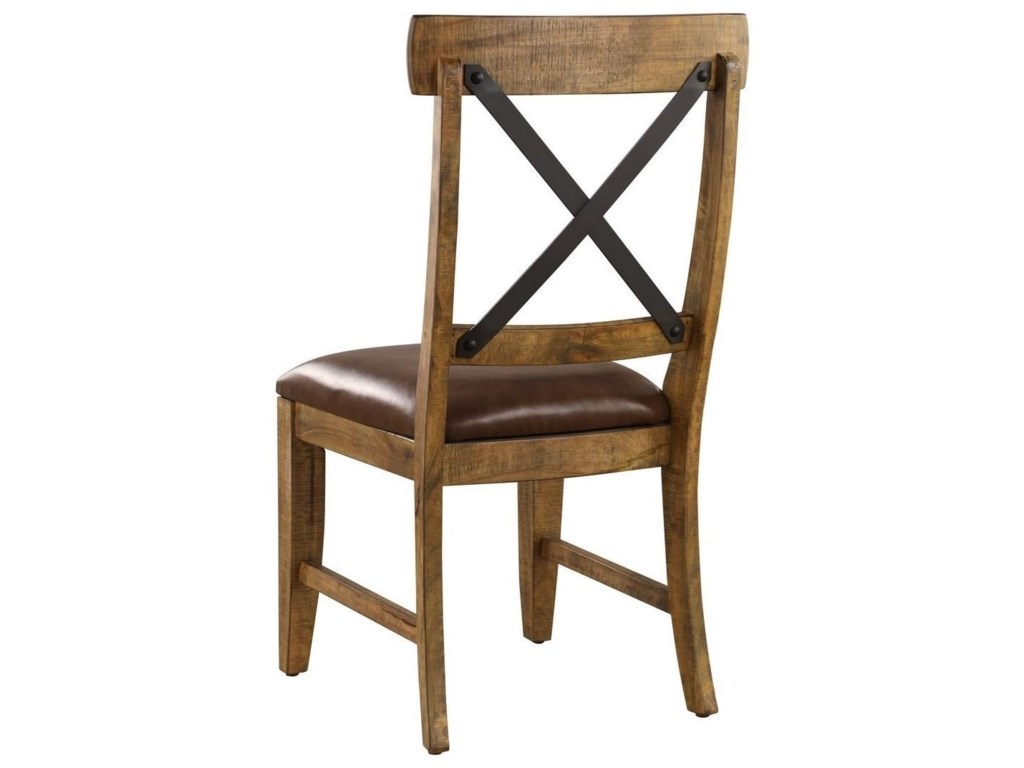 Emerald ChandlerX-Back Upholstered Side Chair