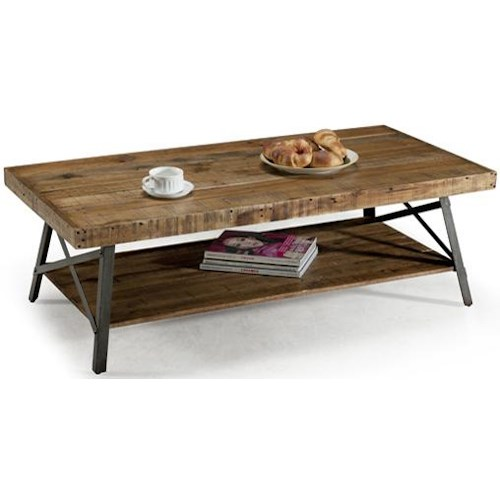 Emerald Andler Cocktail Table with Shelf