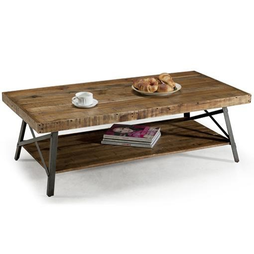 Chandler Cocktail Table With Shelf By Emerald