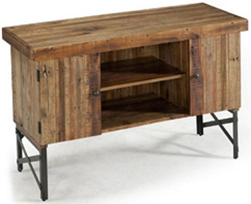 Emerald Andler Sofa Table with 2 Doors and Shelf