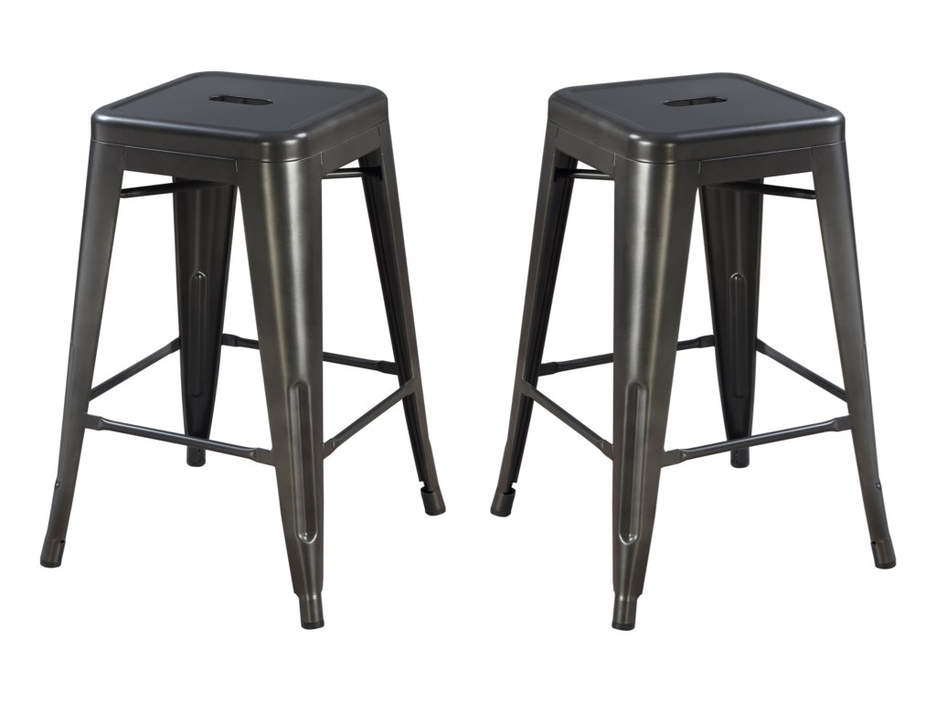 Emerald Dakota IIBackless Barstool