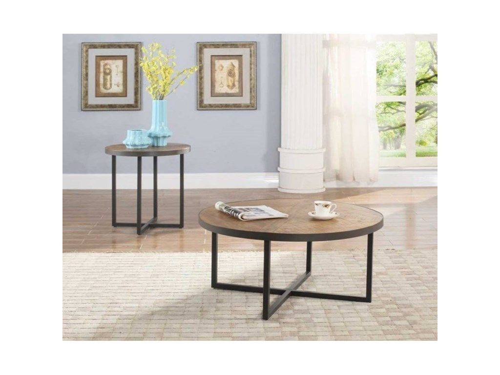 Emerald DentonRound End Table
