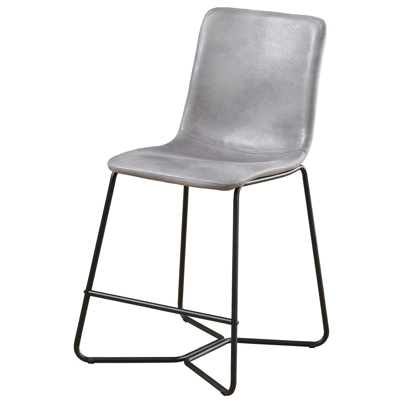 """Contemporary 24"""" Upholstered Bar Stool"""