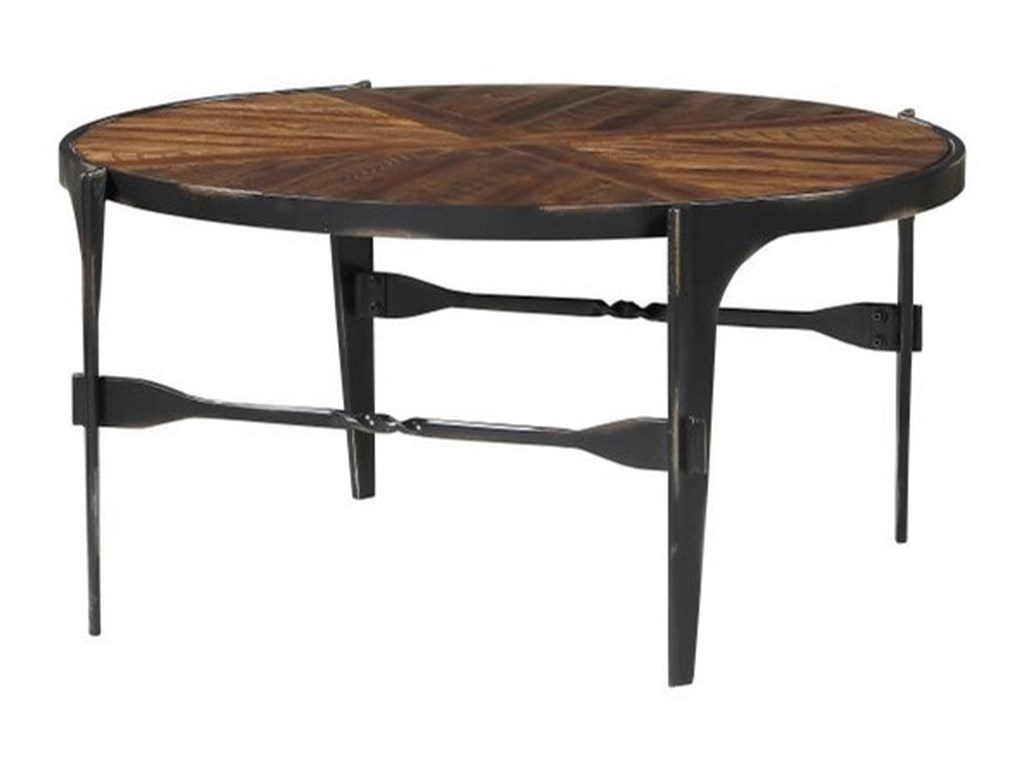 Emerald Franklin's ForgeIndustrial Cocktail Table