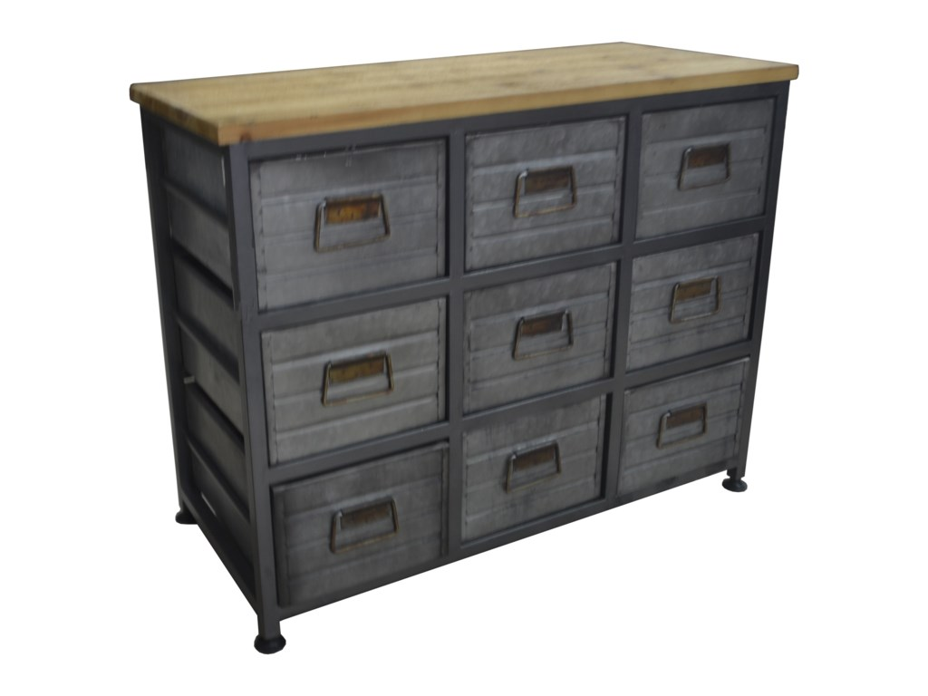 Emerald GrantDrawer Accent Cabinet