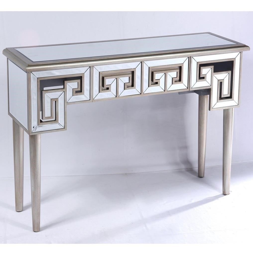 Glam 1-Drawer Sofa Table