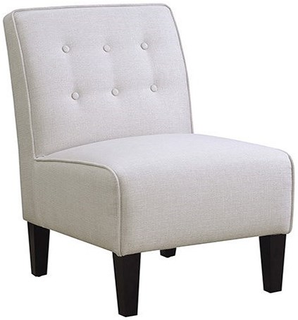 Emerald Jena Accent Chair with Button Tufted Back