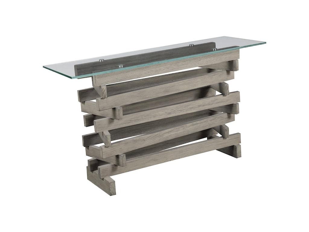 Emerald JengaSofa Table
