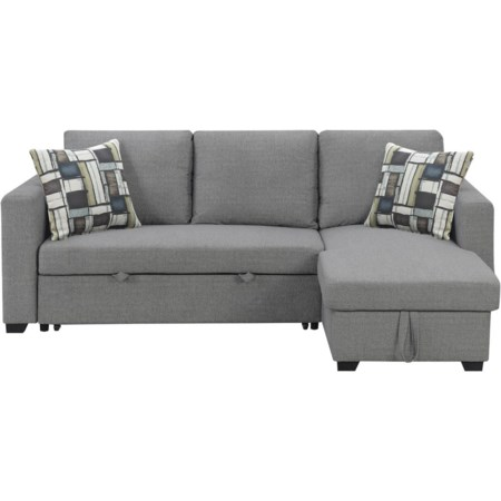 2-Piece Sectional with Reversible Chaise