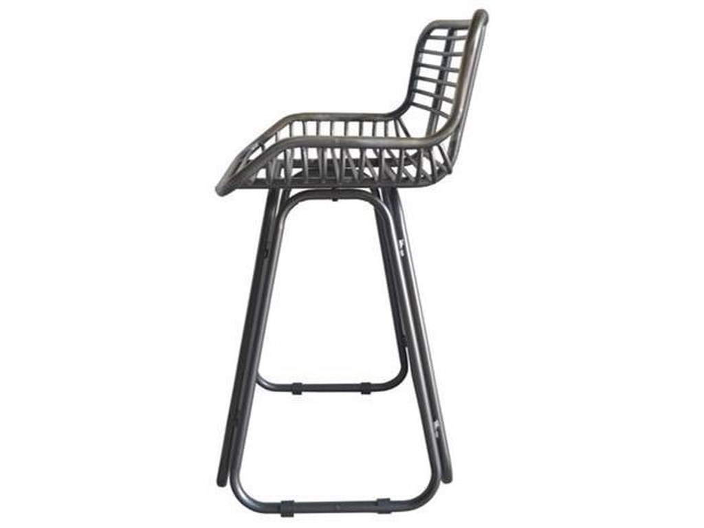 Emerald Laurell Hill24'' Barstool