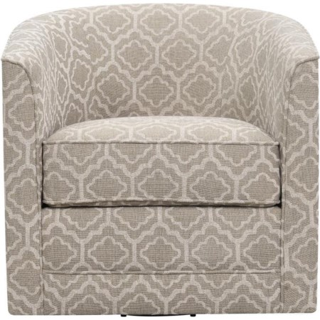 Swivel Chair BEIGE MULTI