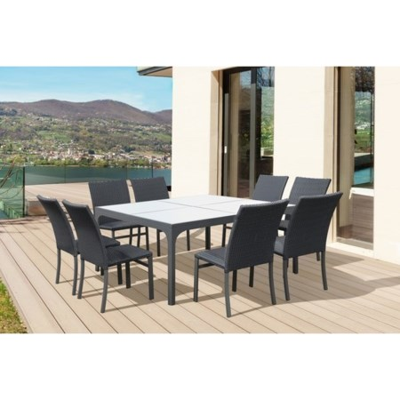 Outdoor 9-Piece Dining Set