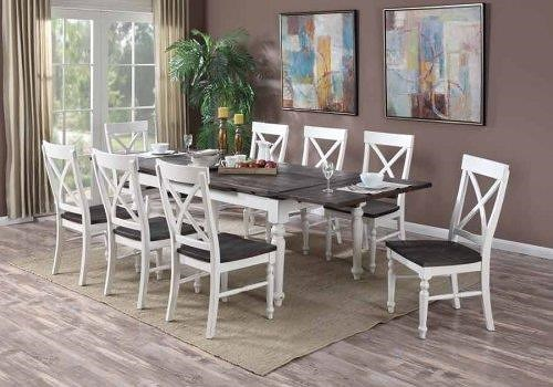 Emerald Mountain Retreat 7 PC Table And Chair Set