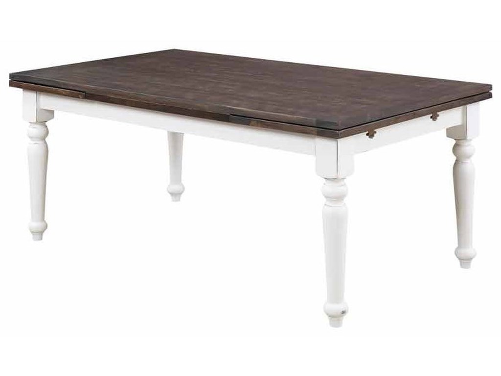 Emerald Mountain RetreatExtension Dining Table with 2 20