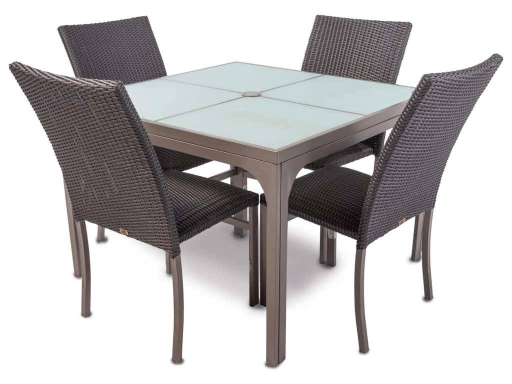Emerald Shimmer5PC Outdoor Dining Set
