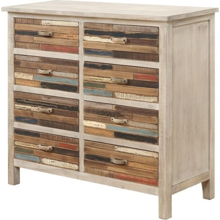 Accent Cabinet W/8 Drawers