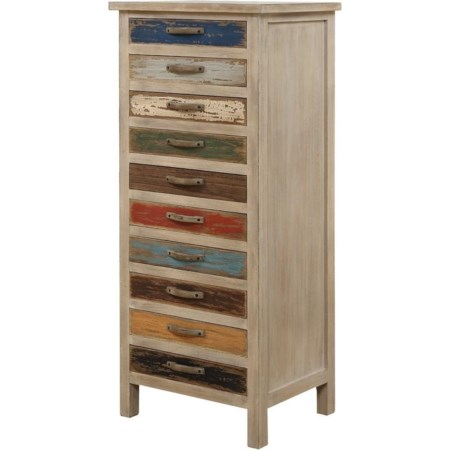 Accent Cabinet W/10 Drawers