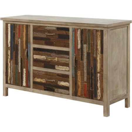 Accent Cabinet W/2 Doors 3 Drawers