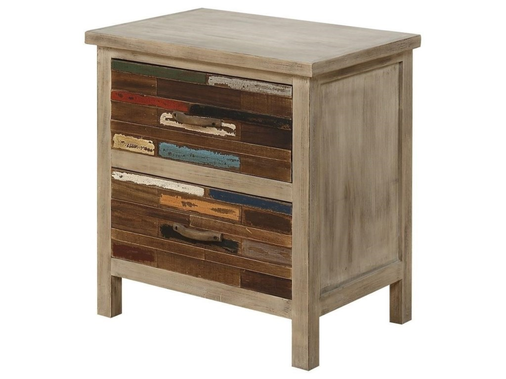 Emerald PabloEnd Table W/2 Drawers