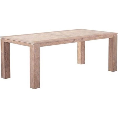 Rectangular Reclaimed Teak Dining Table