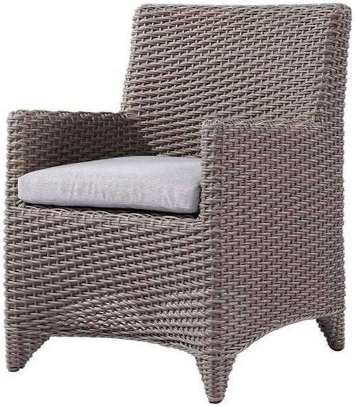 Emerald Reims Dining Arm Chair with Seat Cushion