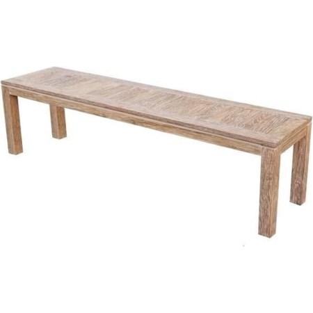 Bench Reclaimed Weathered Teak