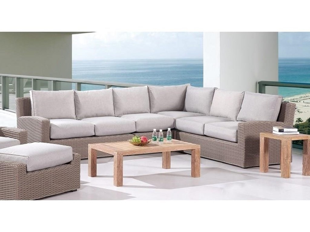 Emerald Vineyard Haven4PC Outdoor Sectional