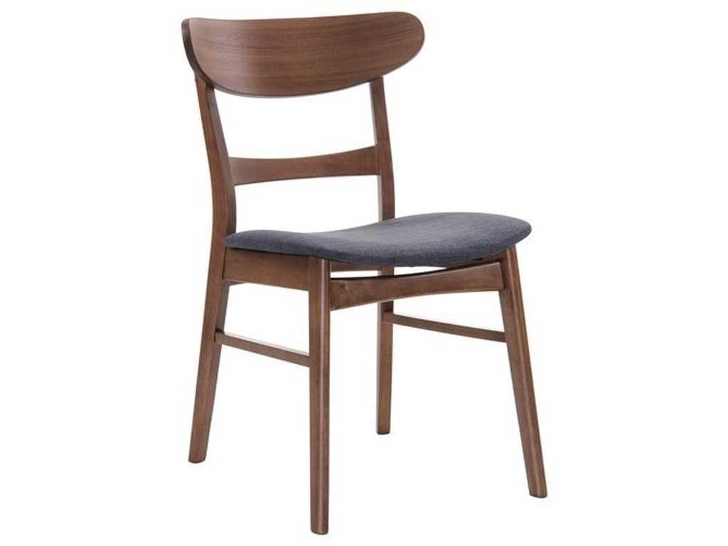Emerald SimplicitySide Chair with Upholstered Seat