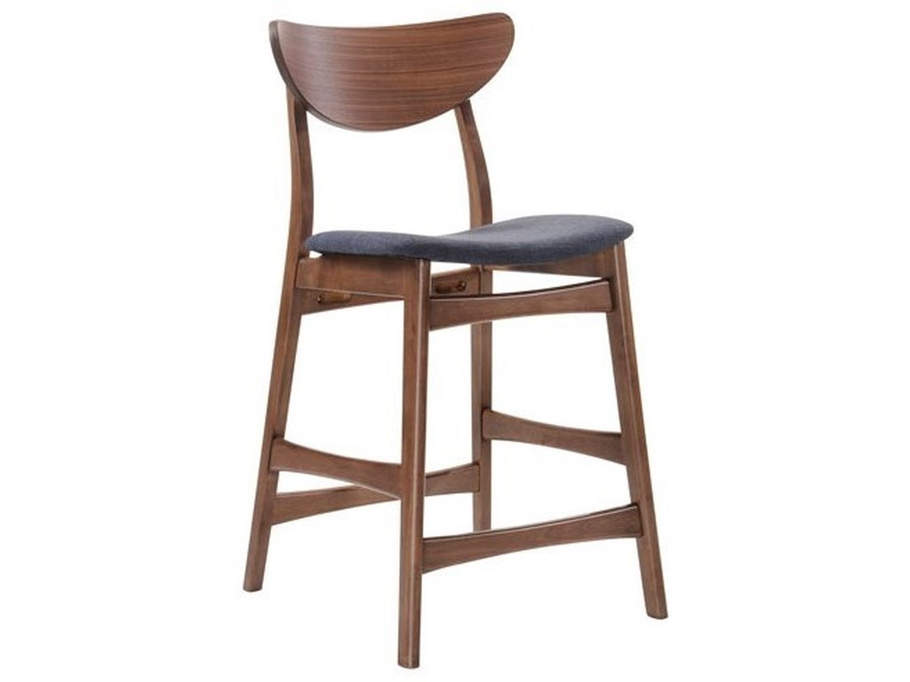 Emerald SimplicityBarstool with Upholstered Seat