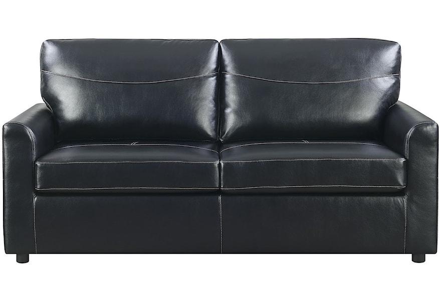 Full Sleeper Sofa W Gel Foam Mattress