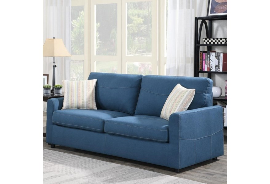 Queen Sleeper Sofa W Gel Foam